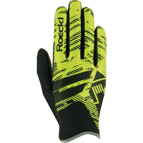 Roeckl Livo Gloves yellow/black